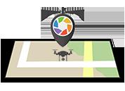 Kissamos drone view logo